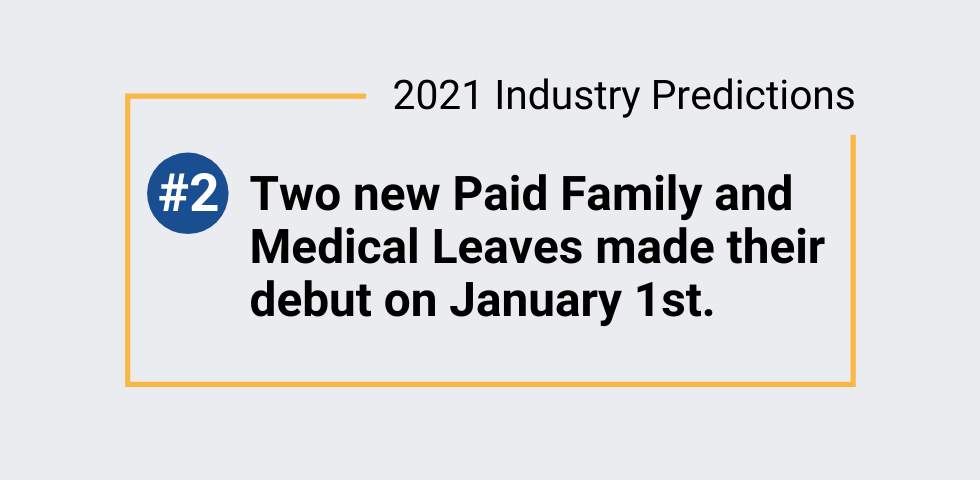 2021 Industry Predictions # 2 – Paid leave